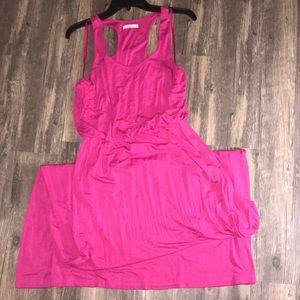 Lush Women's  Blouson Racerback Tank Dress.